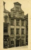 Pocztowka Fasada Domu Uphagena, ok. 1911 r.